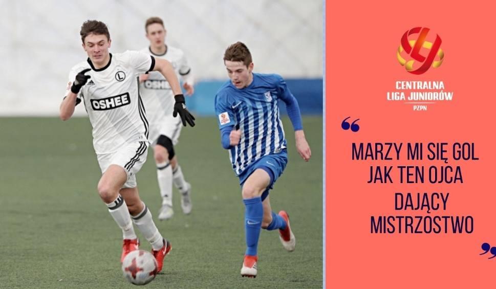 Film do artykułu: Centralna Liga Juniorów | Polska młodzież coraz bardziej ceniona, Synowie legionistów idą w ślady ojców | Flesz Sportowy24