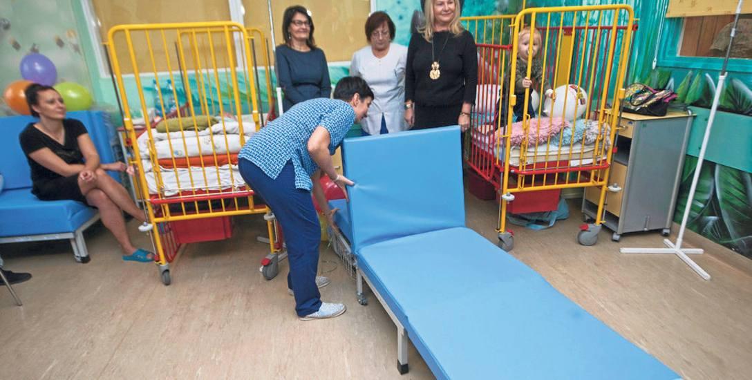Oficjalna prezentacja łóżek miała miejsce we wtorek. Rodzice z łóżek korzystają od kilku dni. Ich zdaniem swoje zadanie spełniają bardzo dobrze