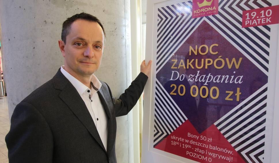 Film do artykułu: W piątek Noc Zakupów w kieleckiej Galerii Korona. Do wygrania aż 20 000 złotych!