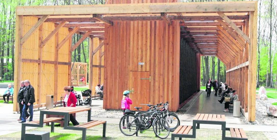 Tak ogromna tężnia solankowa powstała niedawno w Katowicach. Czy podobna stanie w Parku Hallera?