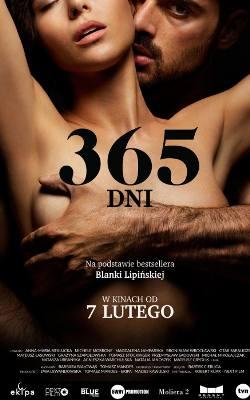 """Plakat filmu """"365 dni"""""""