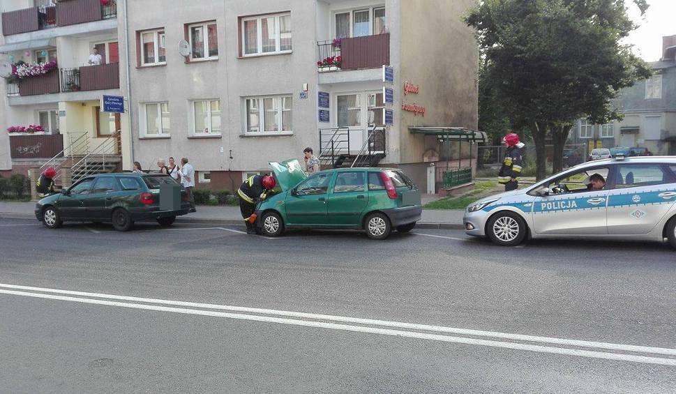 Film do artykułu: Fiat zderzył się z citroenem w Koszalinie