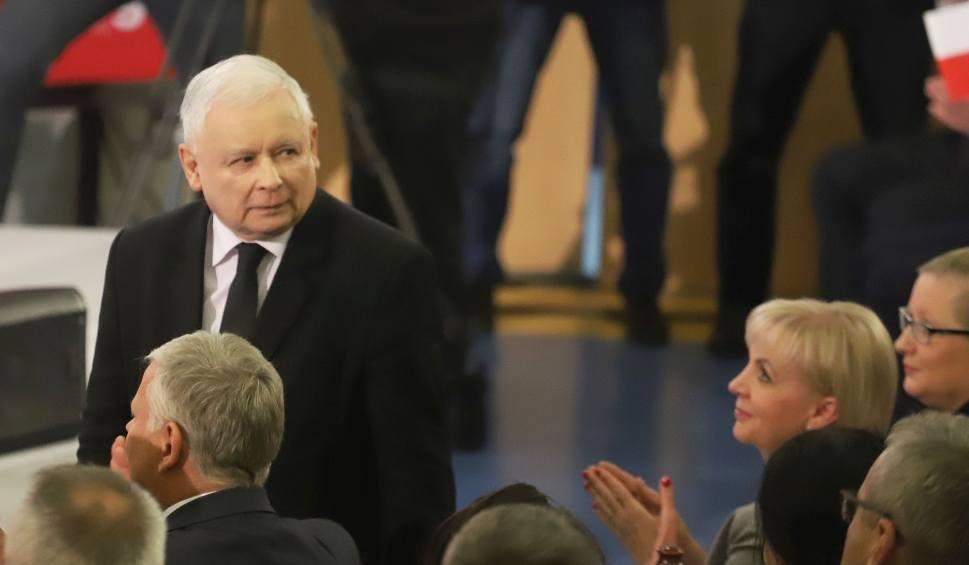 Film do artykułu: Konwencja PiS w Radomiu. Kaczyński podtrzymuje zapowiedź podziału administracyjnego Mazowsza na dwa województwa