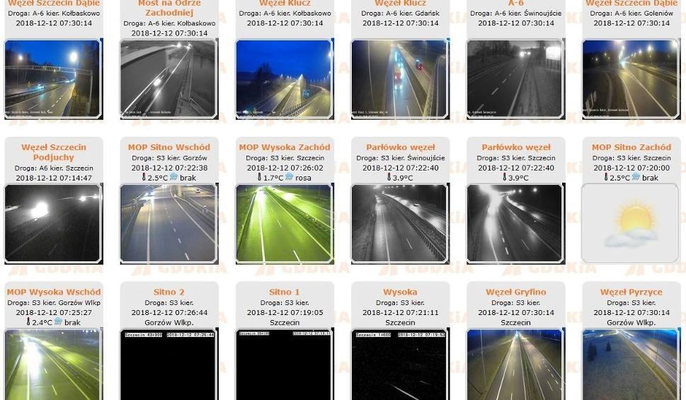 Film do artykułu: Ślisko w Szczecinie i regionie. Na drogach krajowych 33 solarkii