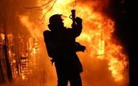 Pożar domu w Szczyglicach