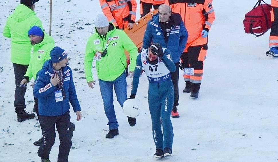 Film do artykułu: Dramatyczny wypadek Piotra Żyły na skoczni w Wiśle w czasie zawodów Pucharu Świata