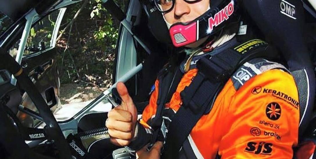 Miko Marczyk wspiął się już na bardzo poważny poziom rywalizacji profesjonalnych rajdowców