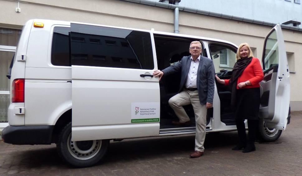 Film do artykułu: Samochód i winda - dla Specjalnego Ośrodka Szkolno-Wychowawczego w Busku-Zdroju [ZDJĘCIA]