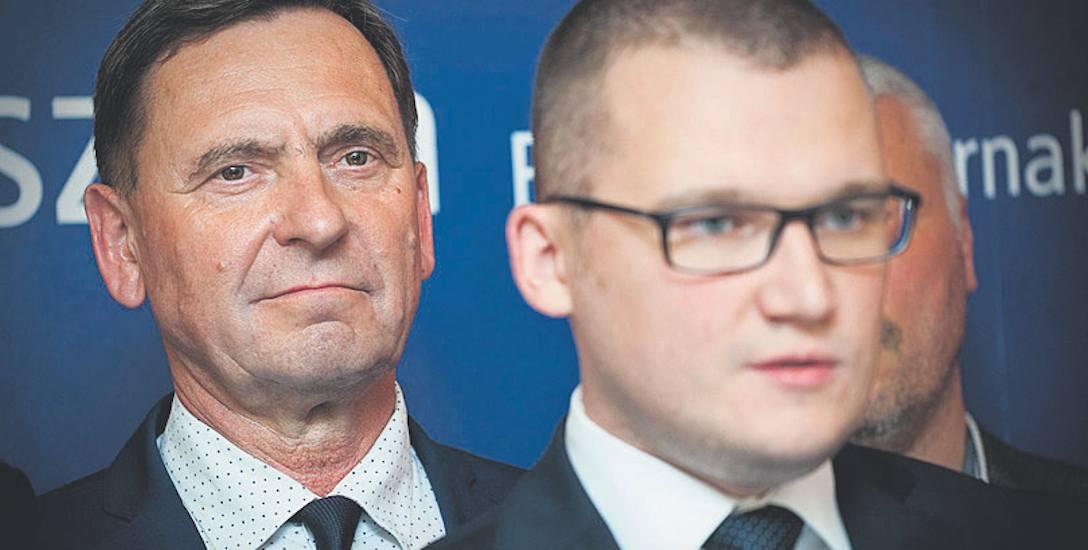 A. Jakubowski  (z lewej) był  w PO 13 lat. Dziś mówi, że to przeszłość: - Emocjonalnie rozstałem się z PO 22 stycznia 2016, gdy złożyłem legitymację