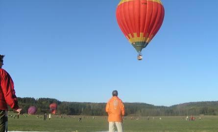 Jeśli pogoda dopisze, będziemy obserwować loty balonów.