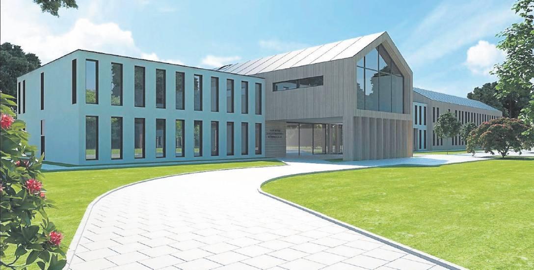 To jedna z trzech wersji Zakładu Pielęgnacyjno-Opiekuńczego, który ma powstać przy ul. Bydgoskiej w Świnoujściu. Planowane zakończenie budowy to przełom