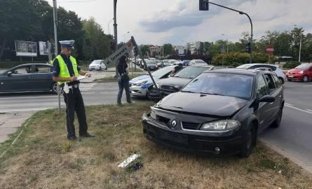 Po wypadku na ulicy Tarnowskiej w Kielcach