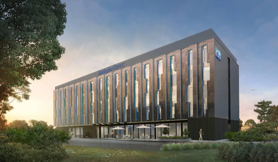 Film do artykułu: Przy lotnisku w Jasionce startuje budowa nowoczesnego hotelu Holiday Inn Express [ZDJĘCIA, WIDEO]
