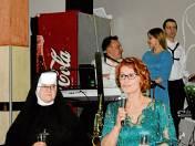 Bal rozpoczęły siostra Magdalena Majzner i Ewa Wojciechowicz