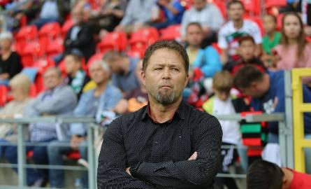 Trener GKS Tychy Jurij Szatałow.
