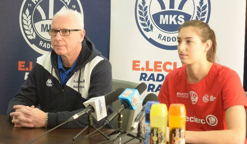 Film do artykułu: E.Leclerc Radomka dąży do realizacji marzeń. Celem awans do szóstki LSK. Pierwszym krokiem ma być wygranie z Eneą PTPS-em Piła