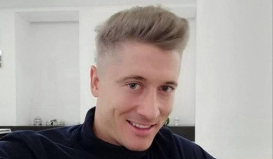 Robert Lewandowski Nowa Fryzura Blond Podoba Wam Się Zdjęcia