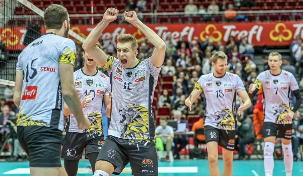 Film do artykułu: Trefl Gdańsk nie zmarnował szansy. MKS Będzin odprawiony z kwitkiem