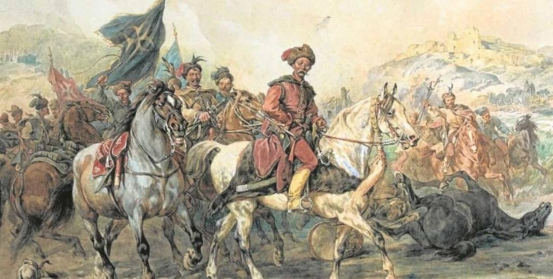 Lisowczycy na obrazie Juliusza Kossaka