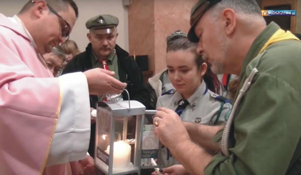 Film do artykułu: Betlejemskie Światło Pokoju przejedzie do Włoszczowy z Austrii