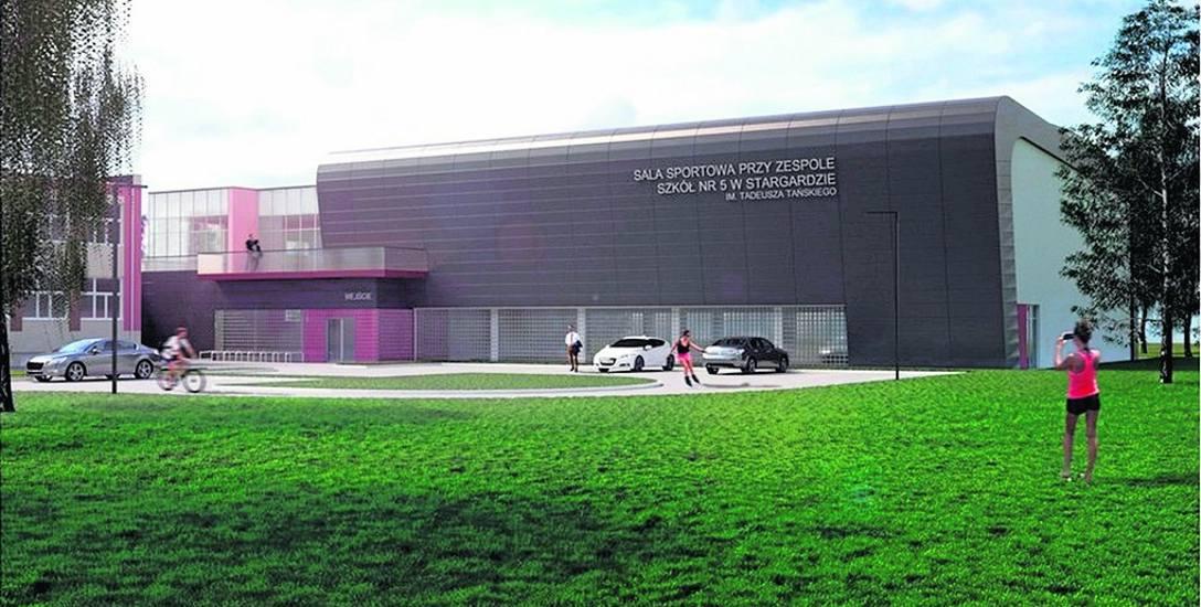 Powiat stargardzki ma już wizualizację sali sportowej. Wciąż nie ma jednak wykonawcy budowy. Planowano, że sala będzie gotowa do końca października 2019