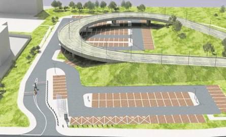 Nowy parking park&ride przy pętli tramwajowej na Kurdwanowie ma pomieścić 167 pojazdów