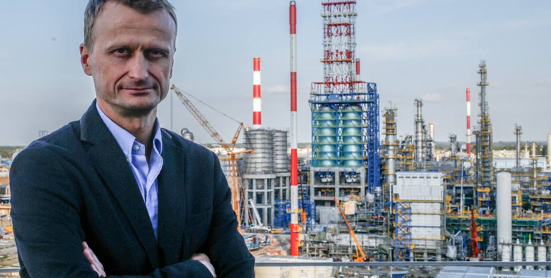 Marcin Jastrzębski, prezes Grupy Lotos SA