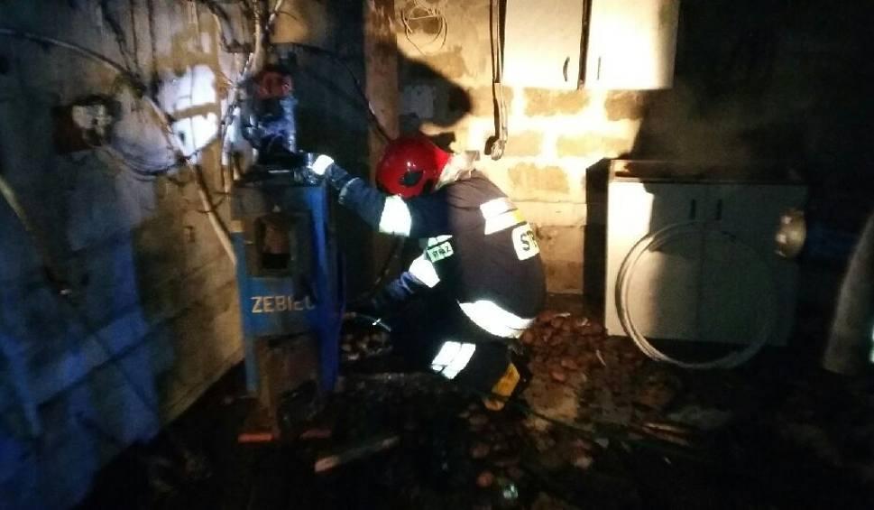 Film do artykułu: Wybuch gazu w Bejscach. Mężczyzna z poparzeniami twarzy i rąk