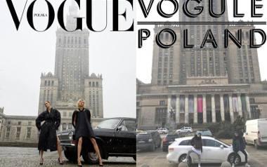 Okładka Vogue Polska budzi spore kontrowersje. Nie dziwi więc, że internauci pozwoli sobie na liczne przeróbki. Wśród nich są także przeróbki z Tychów