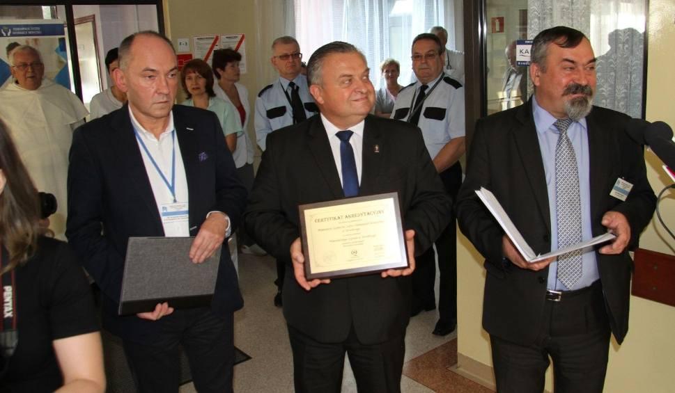 Film do artykułu: Szpital Wojewódzki w Tarnobrzegu otrzymał kolejną akredytację!