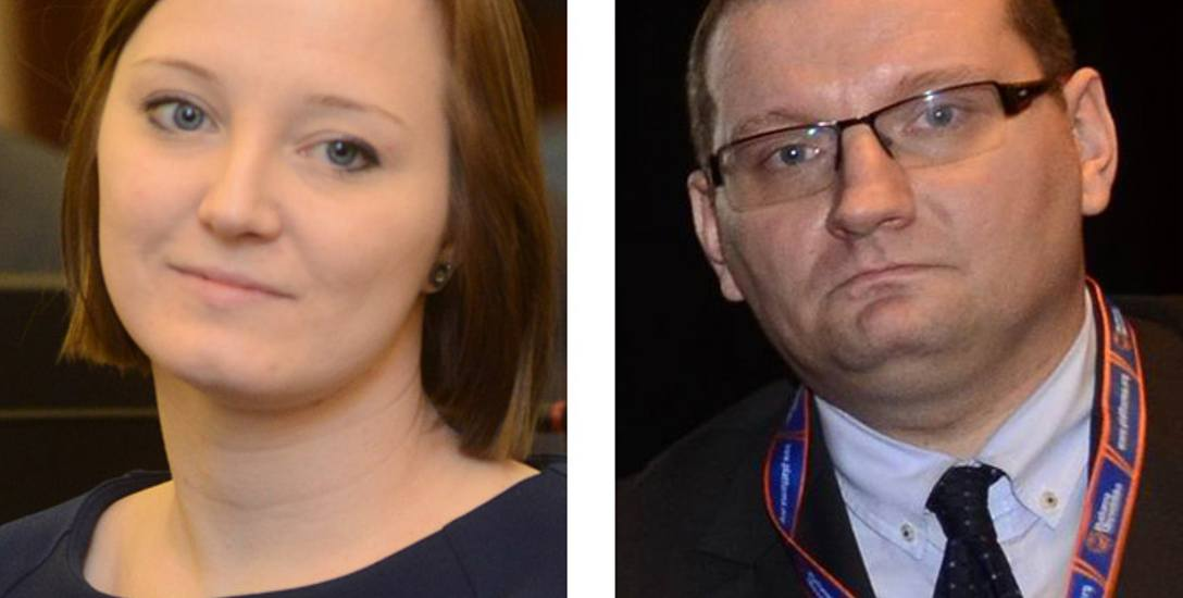 W tej kadencji oboje zdali mandaty radnych. Teraz Urszula Mańkowska i Bartosz Zawieja rywalizują o fotel szefa poznańskiej PO