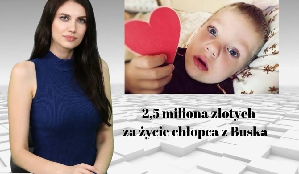 Film do artykułu: Wiadomości Echa Dnia. 2,5 miliona złotych za życie chłopca z Buska