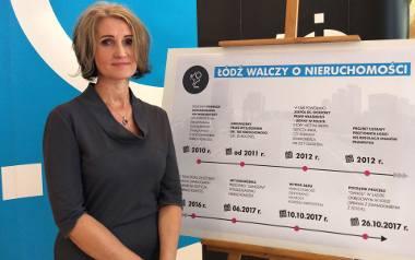 Lucyna Lenc kieruje Oddziałem ds. Ochrony Praw Własności do Nieruchomości UMŁ. Oddział walczy z dziką reprywatyzacją