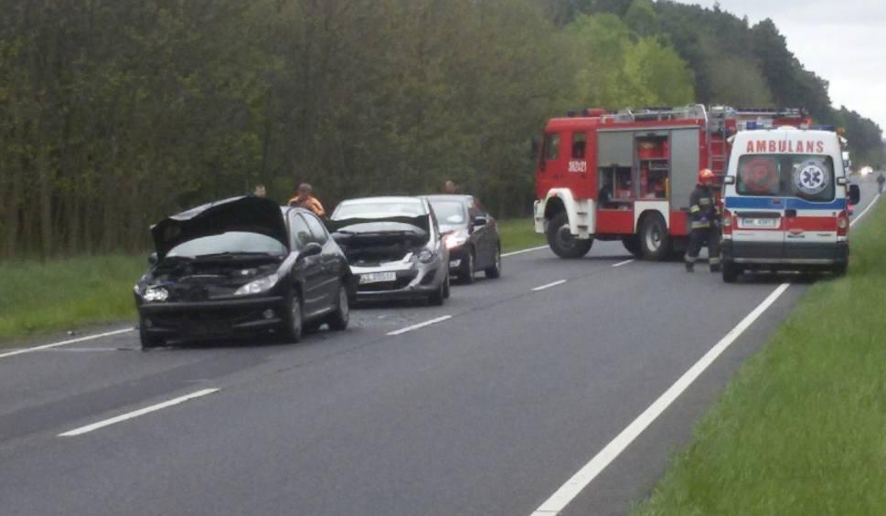 Film do artykułu: Kraksa koło Gubina. Zderzyły się trzy auta [WIDEO]