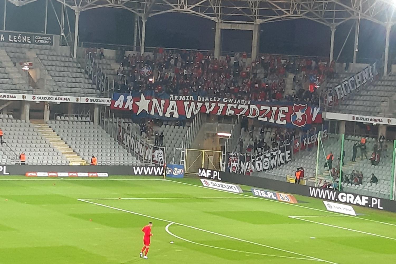 Zobacz kibiców Wisły na meczu w Kielcach [ZDJĘCIA]