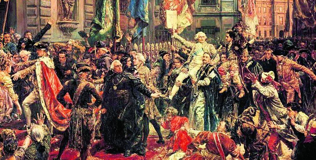 """Konstytucja 3 maja 1791 roku"", obraz Jana Matejki"
