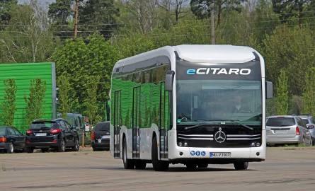 Elektryczny, bezemisyjny autobus eCitaro testowany jest w tym tygodniu na liniach 163 oraz 190