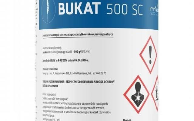 Jeden fungicyd, wiele możliwości to Bukat 500 SC