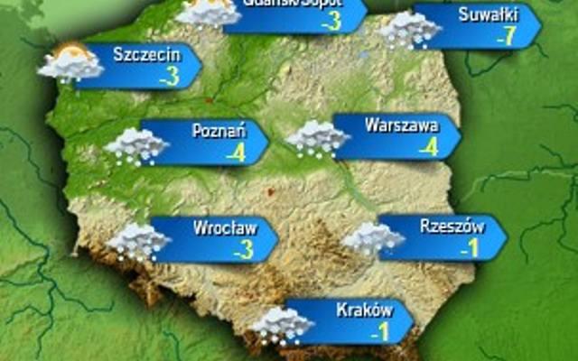 Mapa Polski Pogoda Dziennikzachodni Pl