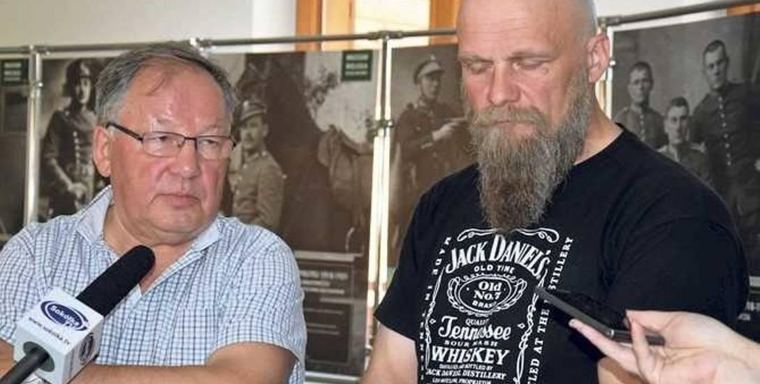 Bronisław Talkowski (z lewej) oraz  Maciej Sidorowicz liczą na pomoc rzecznika praw obywatelskich