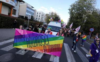 Tęczowa manifestacja odbędzie się w Toruniu po raz trzeci