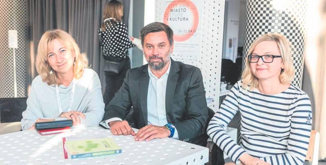 Bożena Gierat-Bieroń, Paweł Kubicki i Joanna Orzechowska-Wacławska udowodnili, że konkurs pomógł miastom