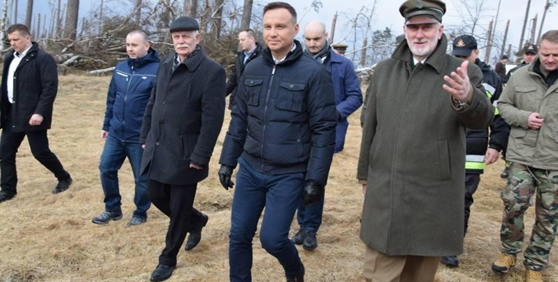 Podczas swojej wizyty w powiecie chojnickim prezydent Andrzej Duda spotkał się z mieszkańcami Mylofu, Suszka, Rytla i Brus