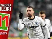 Legia ma to coś. Jedenastka 17. kolejki Lotto Ekstraklasy według GOL24 [GALERIA]