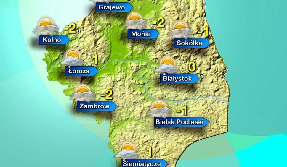 Film do artykułu: Prognoza pogody na 24.11.2015 - Podlaskie. Białystok, Łomża, Suwałki i inne miasta (wideo)