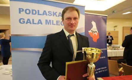 Ryszard Dmochowski osiągnął rekordową w woj. podlaskim wydajność w produkcji mleka za 2018 r.