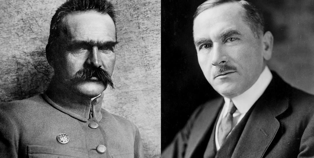 Józef Piłsudski i Roman Dmowski. Polityczni przeciwnicy potrafili się zjednoczyć w najważniejszej kwestii