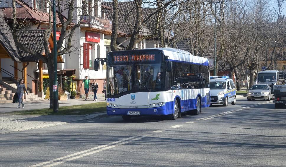 Film do artykułu: Podhale. Autobusy miejskie będą wozić pasażerów z Poronina i Kościeliska?