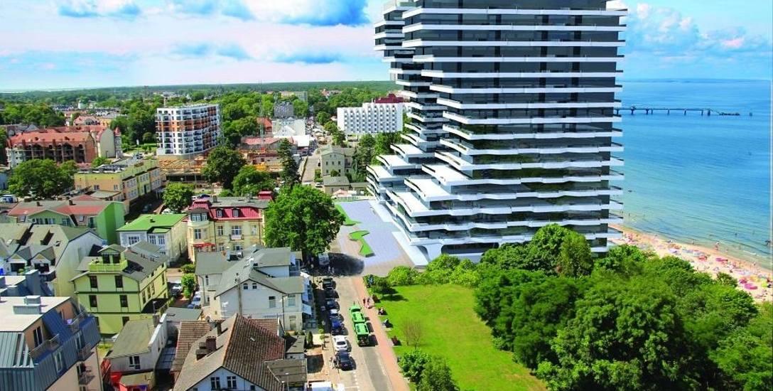 Firma Siemaszko chce zbudować w Międzyzdrojach dwa wieżowce. Jeżeli wojewoda zakwestionuje wydane pozwolenie - budynki nie powstaną