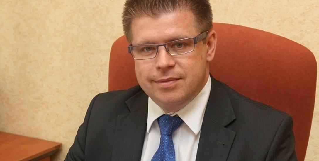 Burmistrz Dariusz Ejchart.